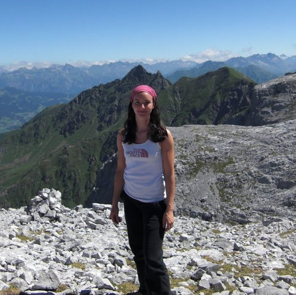 me in the mountains of Austria
