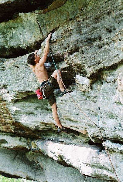 Rock Climbing Photo: psycho wrangler