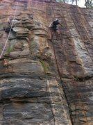 Rock Climbing Photo: Aussie