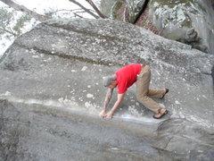 Rock Climbing Photo: Mortal Combat