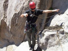 Rock Climbing Photo: Thought this was a cool photo of the rope getting ...