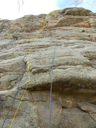 Rock Climbing Photo: The location of Intoxica route on Beehive Buttress...