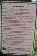 Rock Climbing Photo: New Castle Rock regulations