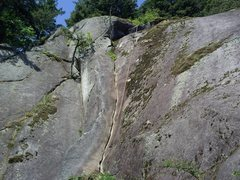 Rock Climbing Photo: Root Picker in the middle. Try Me arete just left ...