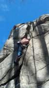 Rock Climbing Photo: Number 8 is a cruel mistress constantly trying to ...