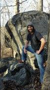 Rock Climbing Photo: Rando boulder near boat rock.