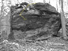 Rock Climbing Photo: The Mystic Arts of Erasing All Signs