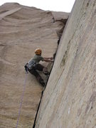Rock Climbing Photo: Classic crack on Our Father