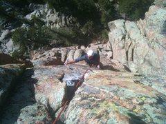 Rock Climbing Photo: Stroblinski climbing.