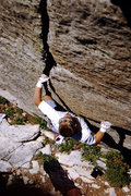 Rock Climbing Photo: 5.10+ Crack