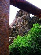 Rock Climbing Photo: Kate on Nitrous Oxide