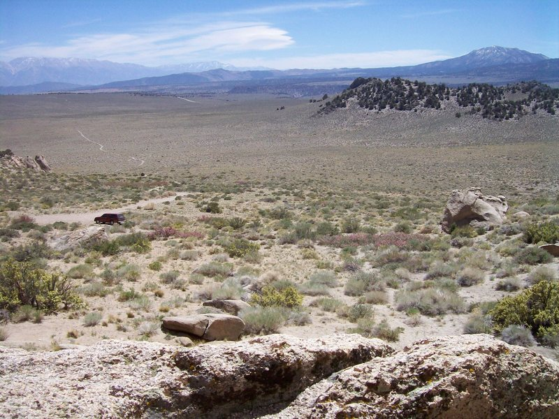 Rock Climbing Photo: Granite Basin on a May Saturday. A view of the app...