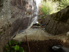 Rock Climbing Photo: Pitch 3 of Rattletale