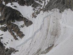 Rock Climbing Photo: slab avalanche!