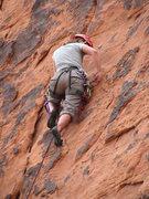 Rock Climbing Photo: Jen on Hippie Vest.