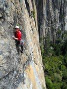 Rock Climbing Photo: Pitch 2 of Golden Bough
