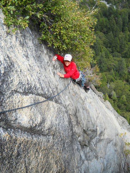 Rock Climbing Photo: Pitch 4 of Golden Bough