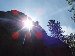 Rock Climbing Photo: close the blinds!