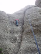 Rock Climbing Photo: Lots of other possible lines of similar difficulty...