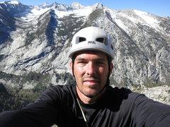 Rock Climbing Photo: Self portrait action