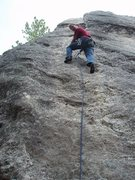 Rock Climbing Photo: Would be a good first lead...  easy and well prote...
