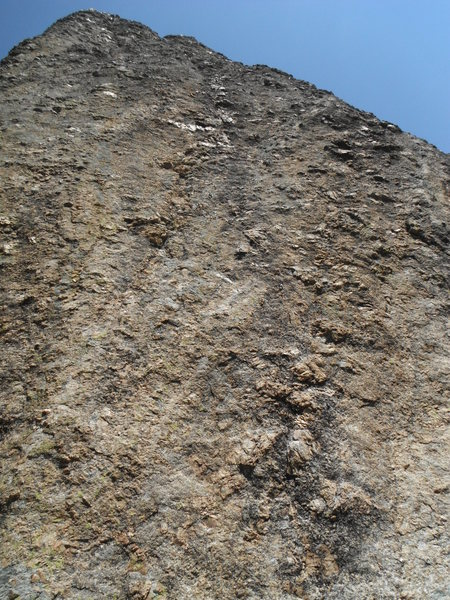 Rock Climbing Photo: View from the ground up