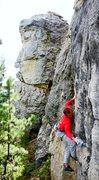 Rock Climbing Photo: tricky