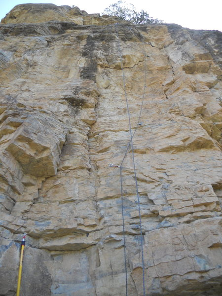 Left Cliff Rte 4