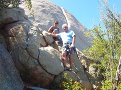Rock Climbing Photo: Mothers Day Crack Climbing w/ my buddy! Enough tim...