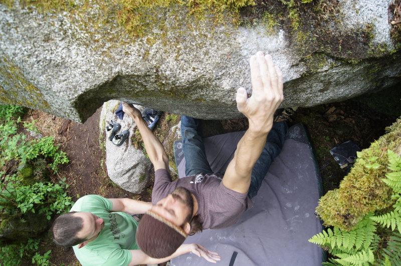 Rock Climbing Photo: FE