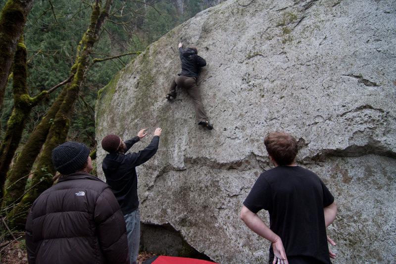 Rock Climbing Photo: PFD
