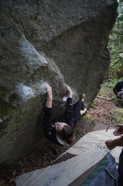 Rock Climbing Photo: MB