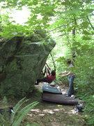 Rock Climbing Photo: ST