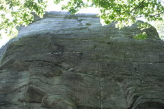 Rock Climbing Photo: One of the four faces of the spire
