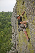 Rock Climbing Photo: Knapp on Rainday
