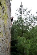 Rock Climbing Photo: Knapp on Awsome Arete.