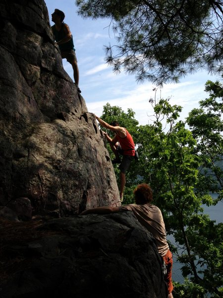 A couple of the good ole boys on a casual Sunday solo of the Ridge. P3 shown here.