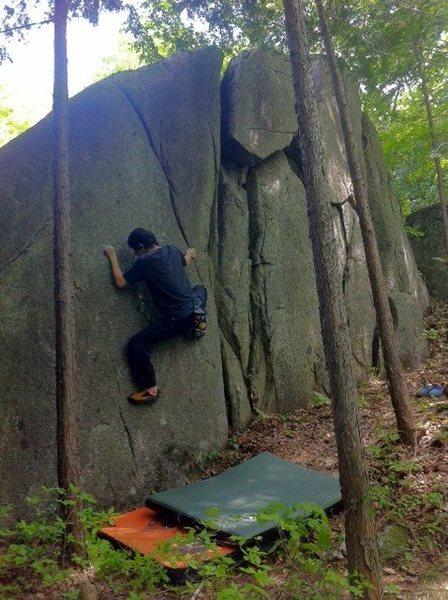 Rock Climbing Photo: Starting The Rat
