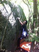 Rock Climbing Photo: Tsutsuji Crimp