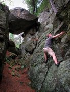 Rock Climbing Photo: Photo by Cody. At Necedah in 2010