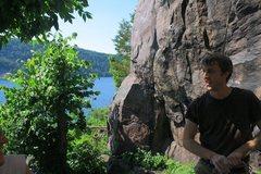 Rock Climbing Photo: Photo by Josh Olson. At Devils Lake