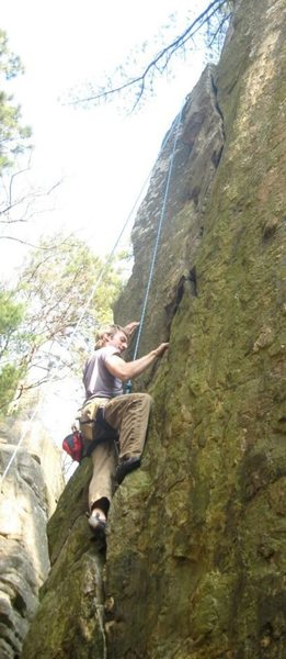 Rock Climbing Photo: Pine Tree Crack