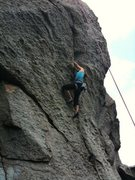 Rock Climbing Photo: Rocks State Park - MD - Really fun crack climb