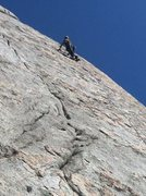 Rock Climbing Photo: Leading the Viewing on a gorgeous March day