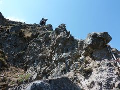 Rock Climbing Photo: Beckey Route closeup. Happy knobaliciousness every...