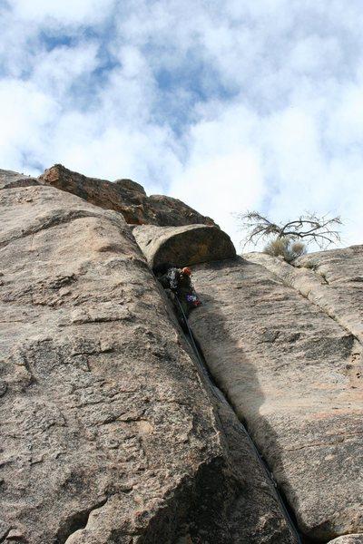Rock Climbing Photo: fools gold