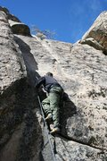 Rock Climbing Photo: fools gold