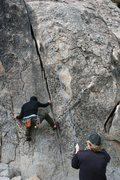 Rock Climbing Photo: shantytown swing