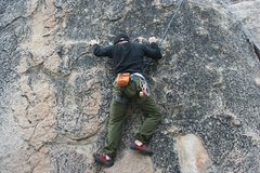Rock Climbing Photo: Out of Our Mines