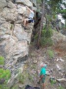 Rock Climbing Photo: Dan and Phil Gleason Thailand Training '09